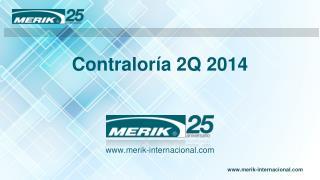 Contraloría 2Q 2014