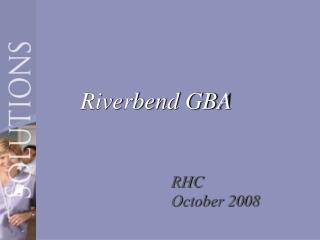 Riverbend GBA