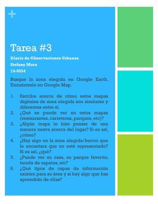 Tarea #3