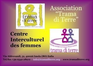 "Association  ""Trama  di Terre"""