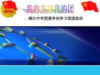 — — 浦江中学团委争创学习型团组织