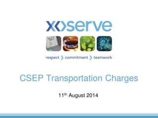 CSEP Transportation Charges