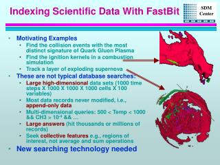 Indexing Scientific Data With FastBit