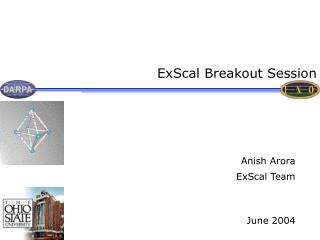 ExScal Breakout Session