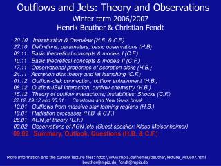 Outflows and Jets: Theory and Observations