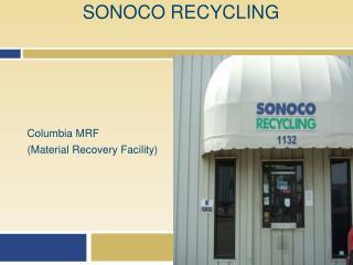 SONOCO RECYCLING
