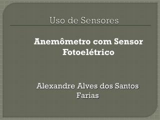 Uso de Sensores
