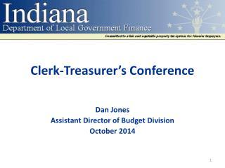 Clerk-Treasurer's Conference