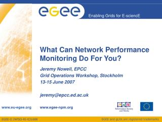 What Can Network Performance Monitoring Do For You?