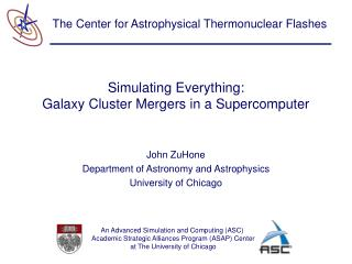 Simulating Everything: Galaxy Cluster Mergers in a Supercomputer