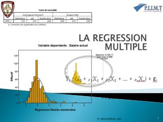 LA REGRESSION MULTIPLE