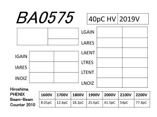 BA0575