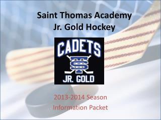 Saint Thomas Academy Jr. Gold Hockey