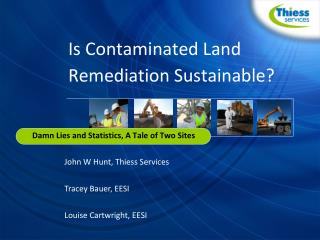 Is Contaminated Land Remediation Sustainable?