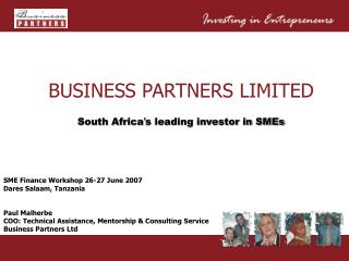 BUSINESS PARTNERS LIMITED