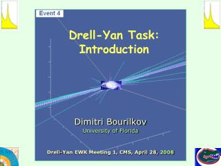 Drell-Yan Task: Introduction