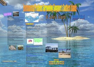 Pulau Bukom: Background Information: