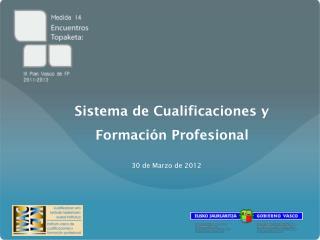 Sistema de Cualificaciones y Formación Profesional