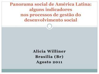 Alicia Williner Brasilia (Br) Agosto 2011