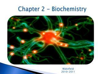 Chapter 2 - Biochemistry
