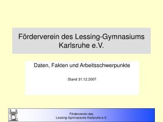Förderverein des Lessing-Gymnasiums Karlsruhe e.V.