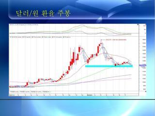 달러 / 원 환율 주봉