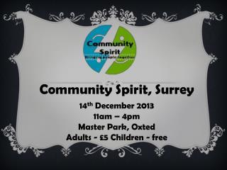Community Spirit, Surrey