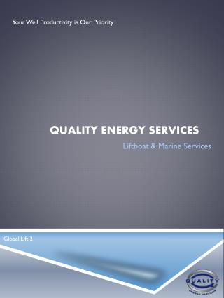 Quality Energy services