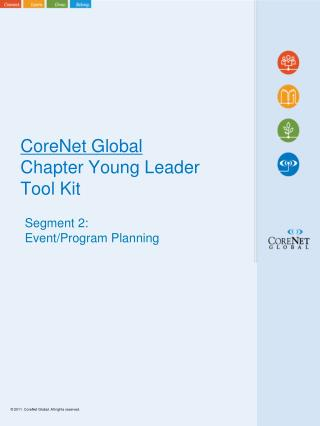 CoreNet  Global Chapter Young Leader Tool Kit