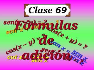Clase  69