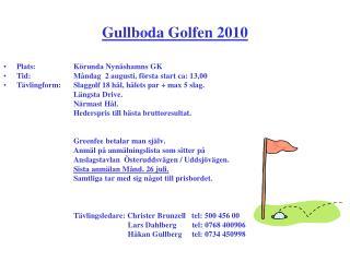 Gullboda Golfen 2010