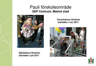 Pauli förskoleområde SDF Centrum, Malmö stad