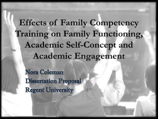 Nora Coleman Dissertation Proposal Regent University