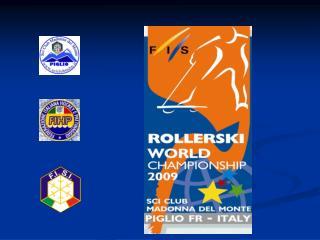 F I S Rollerski World Championship 2009 8th -12th September Frosinone - Piglio - Fiuggi Serrone.