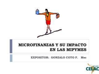 MICROFINANZAS Y SU IMPACTO EN LAS MIPYMES