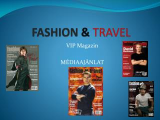 FASHION & TRAVEL