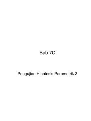 Bab 7C