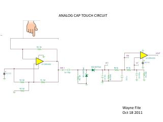 ANALOG CAP TOUCH CIRCUIT