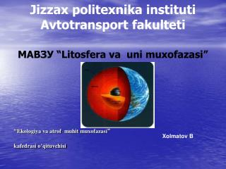 Jizzax politexnika instituti Avtotransport fakulteti