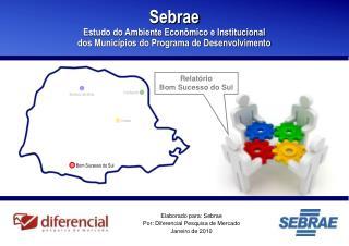 Elaborado para: Sebrae Por: Diferencial Pesquisa de Mercado Janeiro de 2010