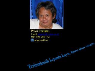 Priyo Pratikno