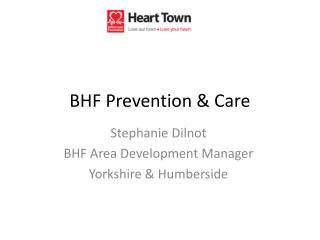 BHF Prevention & Care