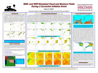 MM5- and WRF-Simulated Cloud and Moisture Fields During a Convective Initiation Event