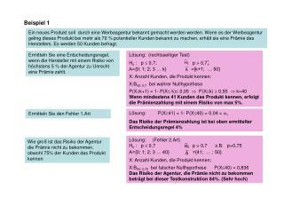 Beispiel 1