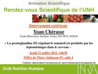 Animation Scientifique
