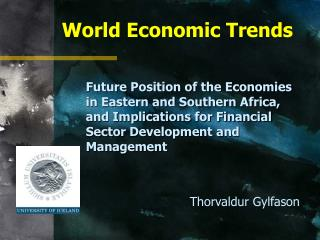 World Economic Trends