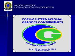 MINISTÉRIO DA FAZENDA PROCURADORIA-GERAL DA FAZENDA NACIONAL