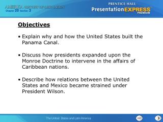 Explain why and how the United States built the Panama Canal.