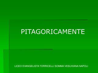 PITAGORICAMENTE