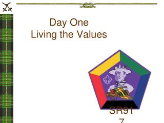 Day One Living the Values